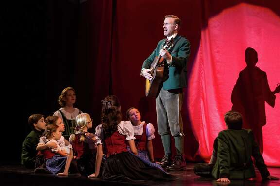 """Ben Davis stars as Capt. von Trapp in the new touring revival of """"The Sound of Music."""""""