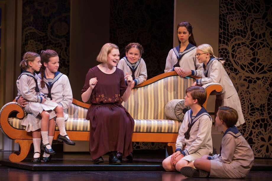"Kerstin Anderson stars as Maria, governess to the von Trapp children, in the new touring revival of ""The Sound of Music."" Photo: Matthew Murphy"