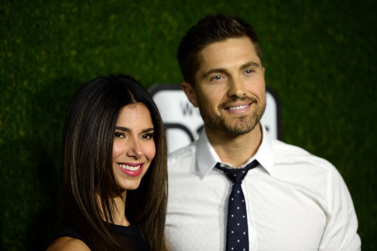 Roselyn Sanchez and her husband Eric Winter star in Hallmark's