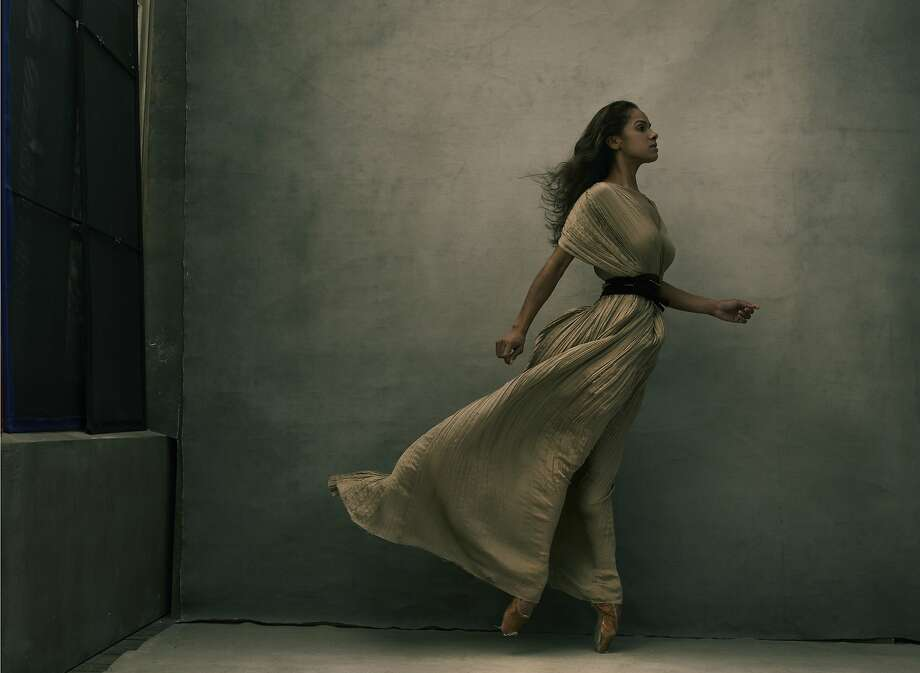 """Misty Copeland"" (2015) from the Annie Leibovitz exhibition. Photo: © Annie Leibovitz"
