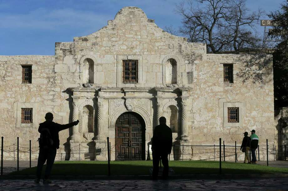 Texas Land Commissioner George P. Bush pitched for tens of millions of additional state dollars for the Alamo project. Click ahead for 20 unique facts to know about the Alamo. Photo: Edward A. Ornelas, Staff / San Antonio Express-News / © 2016 San Antonio Express-News