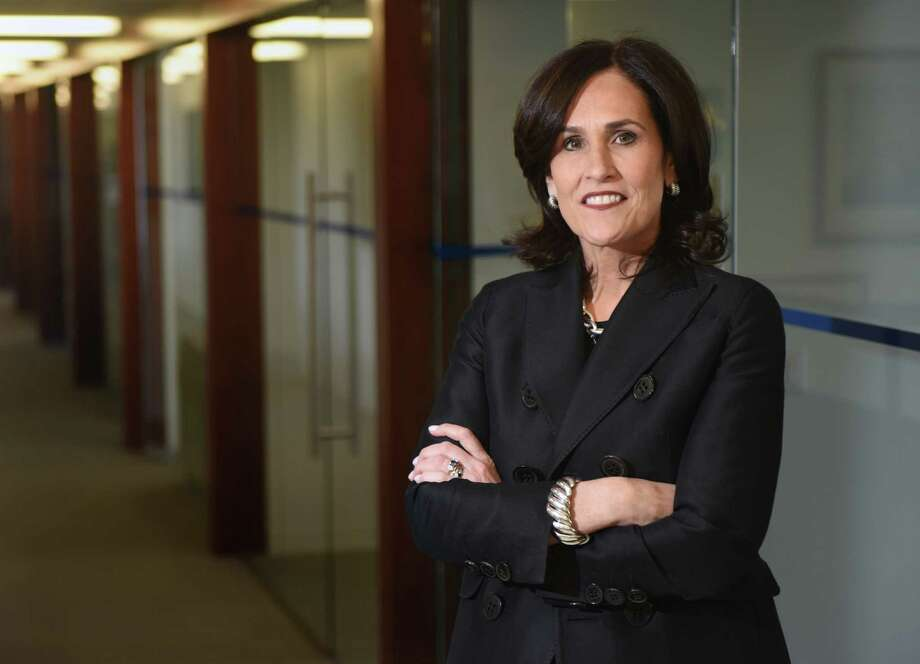 RSR Partners Managing Director and Chief Human Resources Officer Wendy Murphy poses at RSR Partners headquarters in Greenwich. Photo: Tyler Sizemore / Hearst Connecticut Media / Greenwich Time