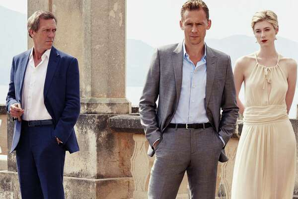 Hugh Laurie and Tom Hiddleston, The Night Manager | Photo Credits: Mitch Jenkins/The Ink Factory/AMC