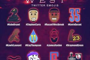NBA creates emojis for Spurs stars - Photo