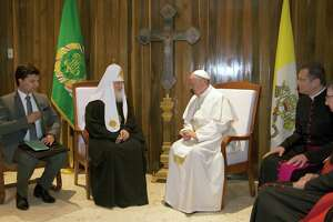 Pope meets Russian Orthodox leader in Cuba - Photo