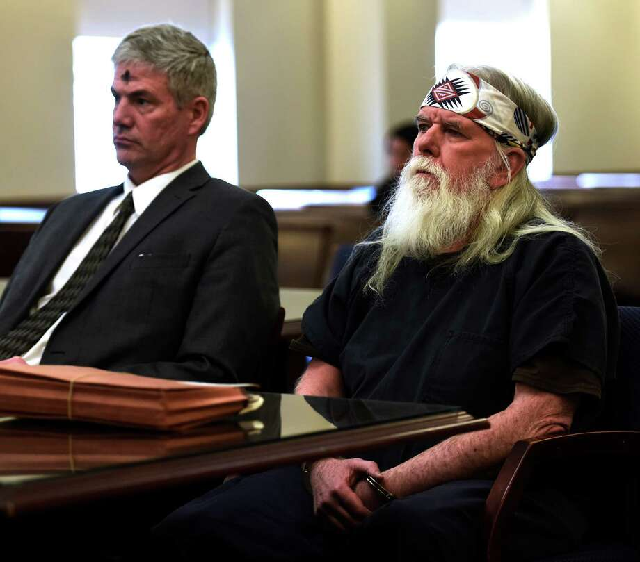 Defendant Joseph J. O'Hara, right, appears Tuesday afternoon with his attorney Paul Edwards in the courtroom of Judge Stephen W. Herrick at the Albany Judicial Center on Feb. 10, 2016, in Albany, N.Y.  (Skip Dickstein/Times Union) Photo: SKIP DICKSTEIN / 10035364A