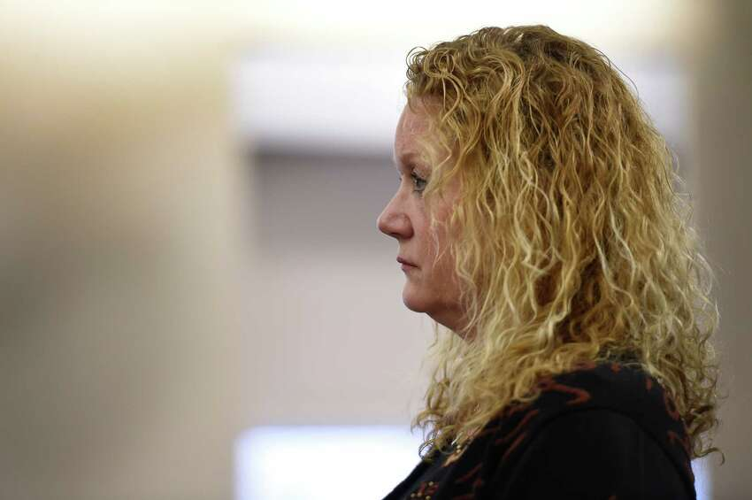 Defendant Barbara Bouchey appears Tuesday afternoon in the courtroom of Judge Stephen W. Herrick at the Albany Judicial Center on Feb. 10, 2016, in Albany, N.Y. (Skip Dickstein/Times Union)