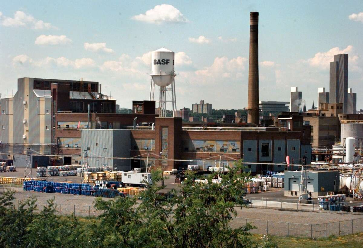 BASF plant Tuesday June 22, 1999, in Rensselaer, N.Y. (Michael P. Farrell/Times Union)