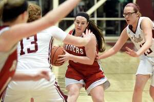 Mechanicville girls' basketball rallies for sectional win - Photo