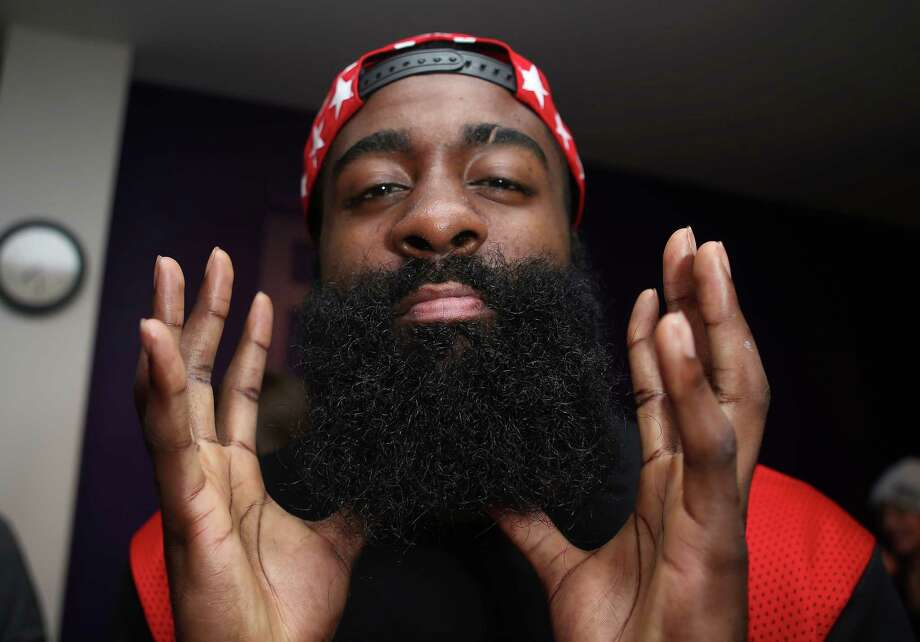 c89f9d18029f PHOTOS  Check out James Harden and other Houston athletes with and without  their beards James