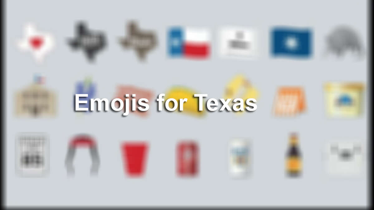 Click ahead to see emojis made especially for Texas.