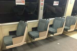 BART removes some seats to give passengers more room - Photo