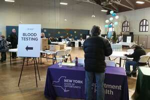 900 sign up for Hoosick Falls blood tests - Photo