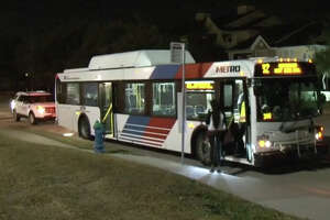 Metro bus driver attacked, robbed overnight - Photo