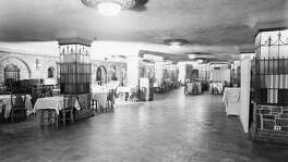 The Caveteria, in the basement of the Gunter Hotel, is shown in this undated photo.