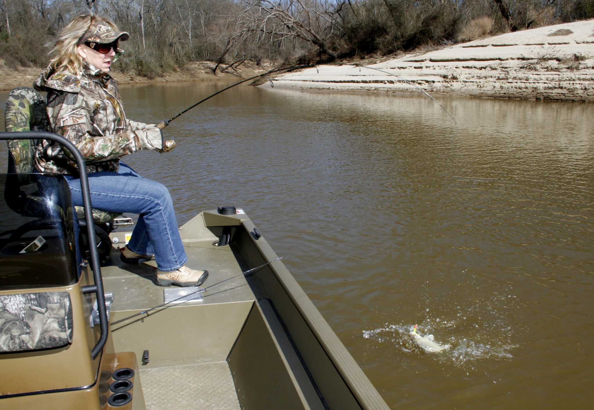 Location Timing Key To Catching River Run White Bass