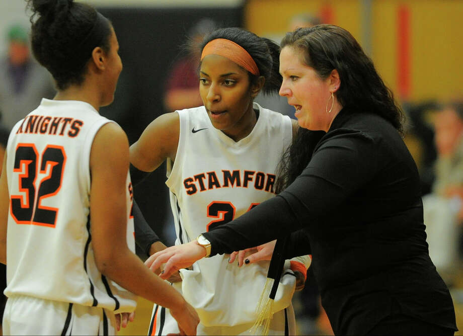 Stamford defeated Fairfield-Warde 59-51 in a FCIAC league game at Stamford High School on Feb. 13, 2016. Photo: Matthew Brown, Hearst Connecticut Media / Stamford Advocate
