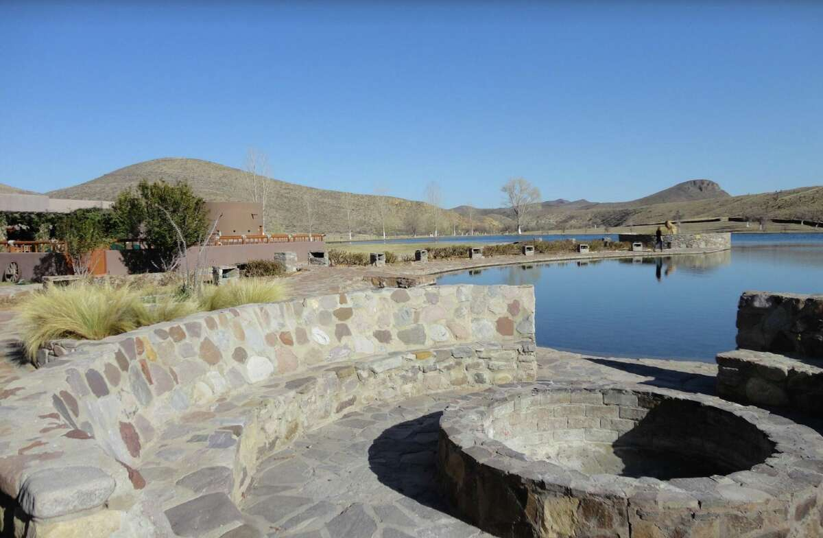 Cibolo Creek Ranch is a luxury resort located about 30 miles south of Marfa, in West Texas.