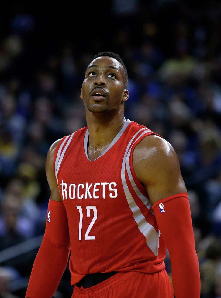 Center Dwight Howard and the Rockets have 27 games left in the regular season to get their act together and make a run for a playoff spot.