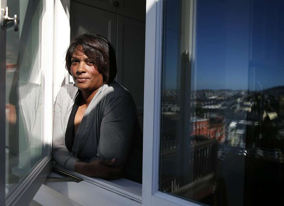 """Documentary filmmaker Dawn Porter is seen in San Francisco, Calif. on Saturday, Feb. 13, 2016. Porter's latest film """"Trapped"""" received a special jury award for social impact filmmaking at the Sundance Film Festival. Photo: Paul Chinn, The Chronicle"""