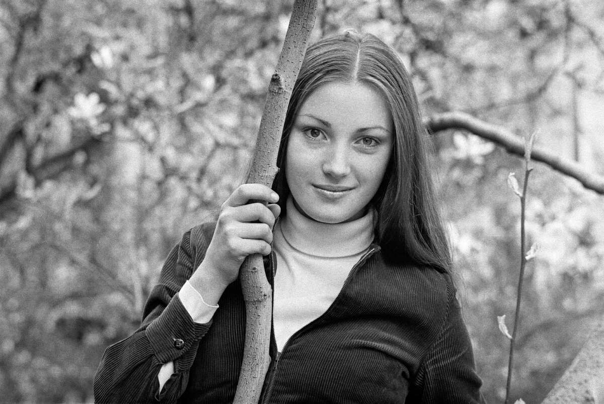1969: English actress Jane Seymour photographed when she was a drama student and still using her birth name, Joyce Frankenberg.