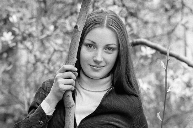 English actress Jane Seymour, 30th April 1969. This picture was taken when Seymour was a drama student and still using her birth name, Joyce Frankenberg.