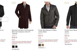 Men's Warehouse: Take an extra 40% off clearance-priced outerwear - Photo