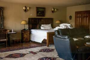 "The ""El Presidente"" suite where Supreme Court Justice Antonin Scalia was found dead at Cibolo Creek Ranch the day following his passing at the West Texas Resort ranch that stretches over 30,000 acres, February 14 , 2016 in Shafter, Texas. Justice Scalia was 79."