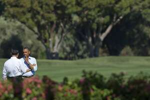 Obama adopts California desert estate as foreign policy center - Photo