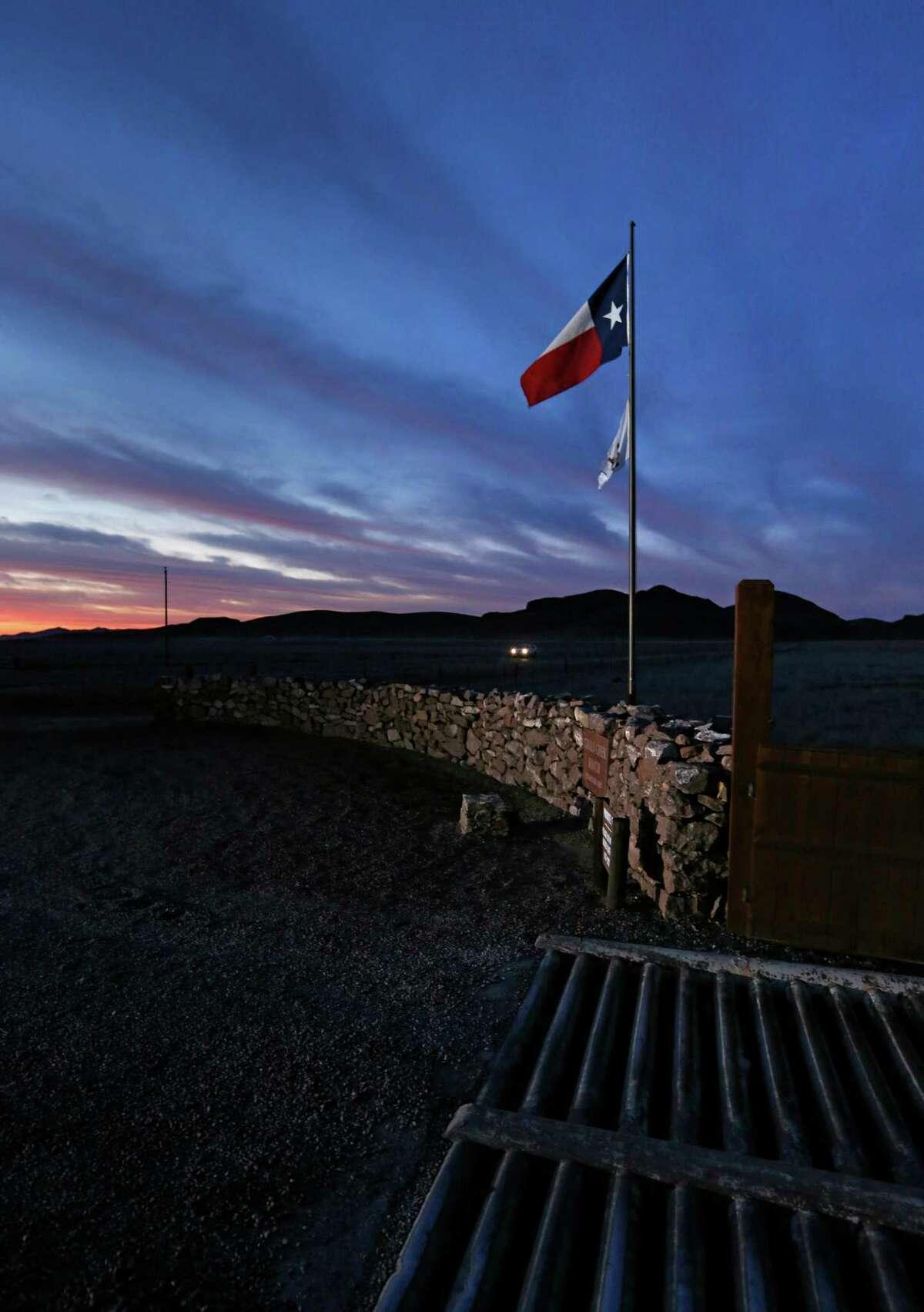 Cibolo Creek Ranch south of Marfa, Texas where Supreme Court Justice Antonin Scalia died Saturday.