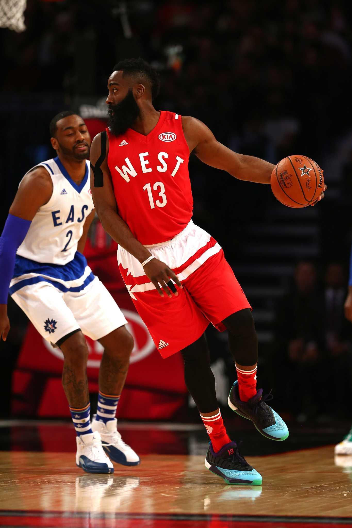90341c45b3f Rockets preparing bid to host future NBA All-Star game - San Antonio  Express-News