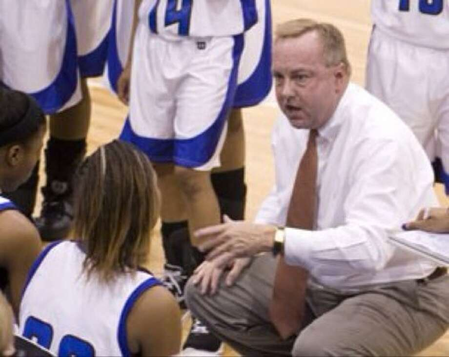 Tommy Gates has led Navasota to 17 playoff appearances in 18 seasons, but the Lady Rattlers' 36-0 regular-season record is uncharted territory even for him. Photo: Scott McDonald