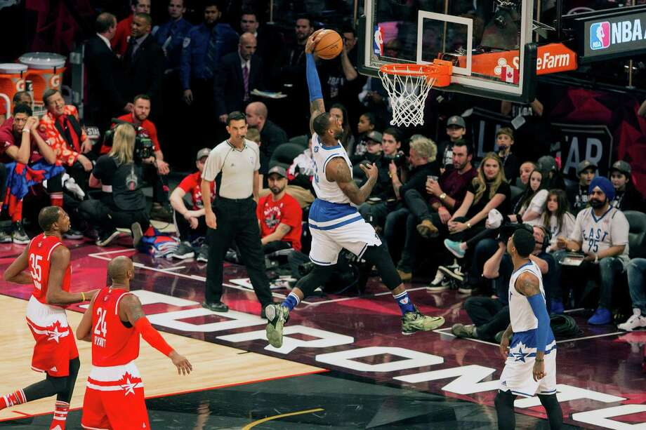 LeBron James became the all-time leading scorer in All-Star Game history, surpassing Kobe Bryant's 290 points. Photo: Chris Young /Associated Press / The Canadian Press
