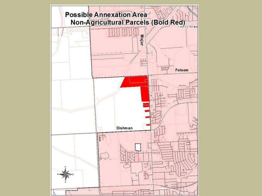 The city of Beaumont plans to annex acreage west of Major Drive, which would be the city's first expansion in almost 30 years.