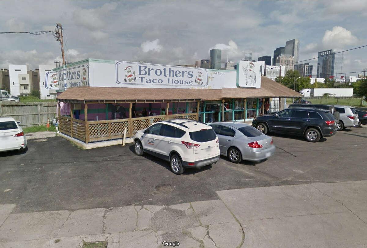 18. Brothers Taco House 1604 Dowling Street Houston, Texas, 77003