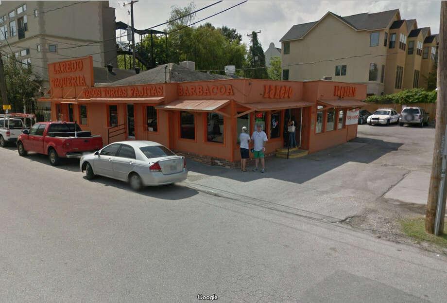 20. Laredo Taqueria915 Snover StreetHouston, Texas, 77007 Photo: Google Maps