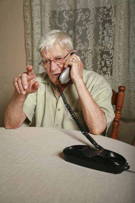 Older people are advised to always ask for information in writing if they receive offers for services over the phone and discuss it with a trusted family member or friend before taking any action. Photo: Getty Images / (c) Sharon Dominick