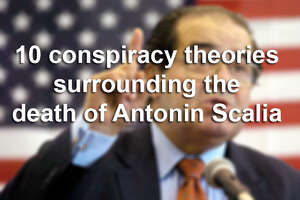 The death of U.S. Supreme Court Justice Antonin Scalia at a West Texas ranch on Saturday has sent the political world into a tailspin.  These are the 10 conspiracy theories surrounding the death of Antonin Scalia in West Texas.