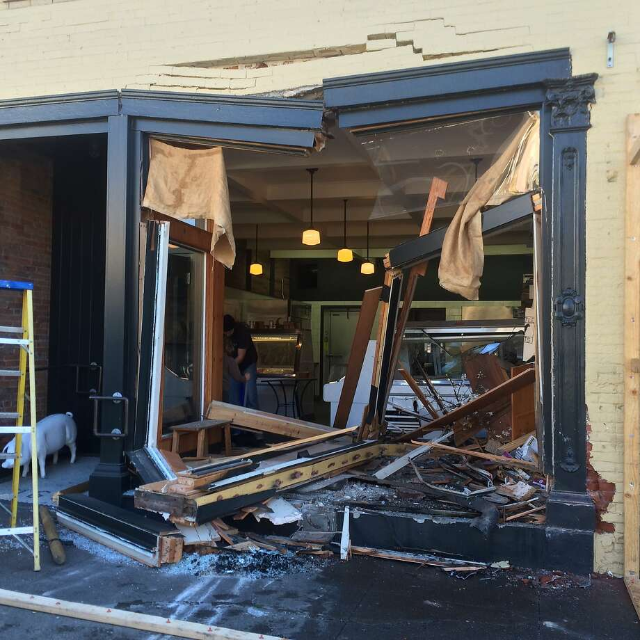 A Petaluma building inspector ordered Thistle Meats closed un til repairs can be made. Photo: Courtesy Of Molly Best