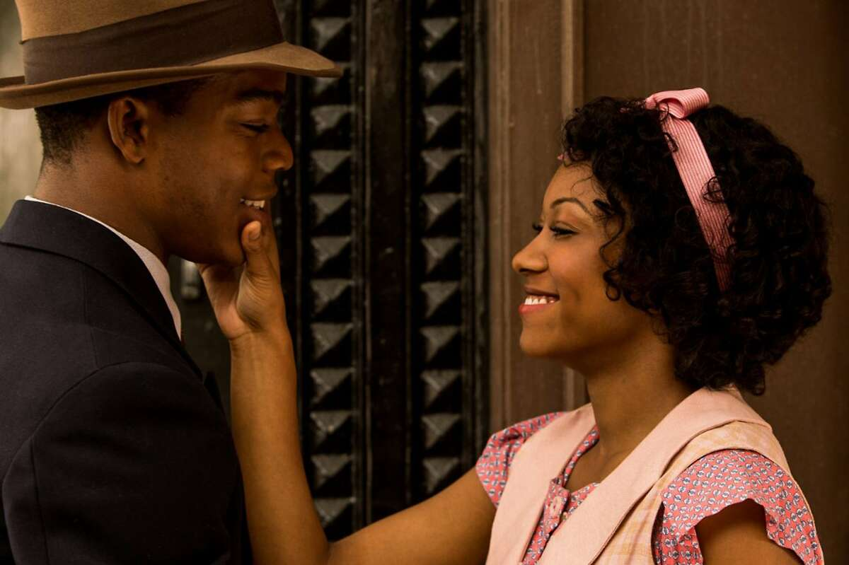 Stephan James and Shanice Banton in