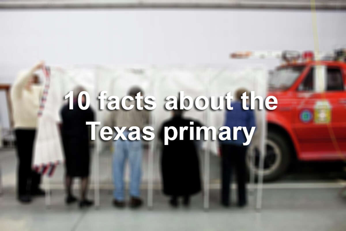 Scroll through the slideshow for 10 quick facts about the Texas presidential primary elections and how they work.