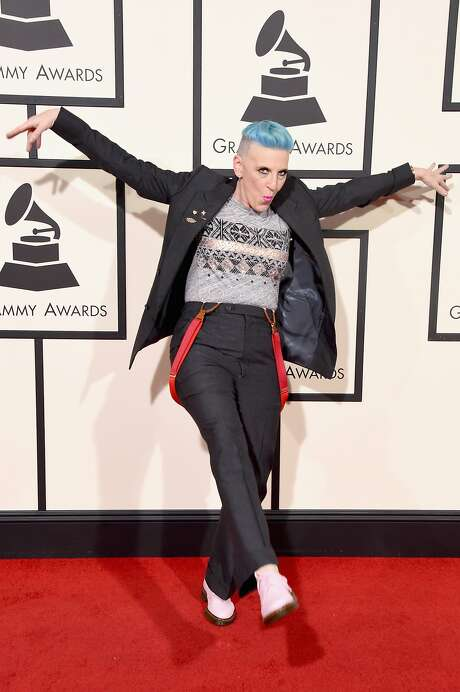 Comedian Lisa Lampanelli attending The 58th GRAMMY Awards at Staples Center on February 15, 2016 in Los Angeles, California. Photo: Jason Merritt, Getty Images For NARAS