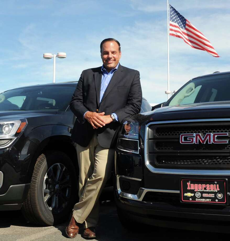Todd A. Ingersoll at one of his car dealerships in 2014. Photo: Ned Gerard / Ned Gerard / Connecticut Post