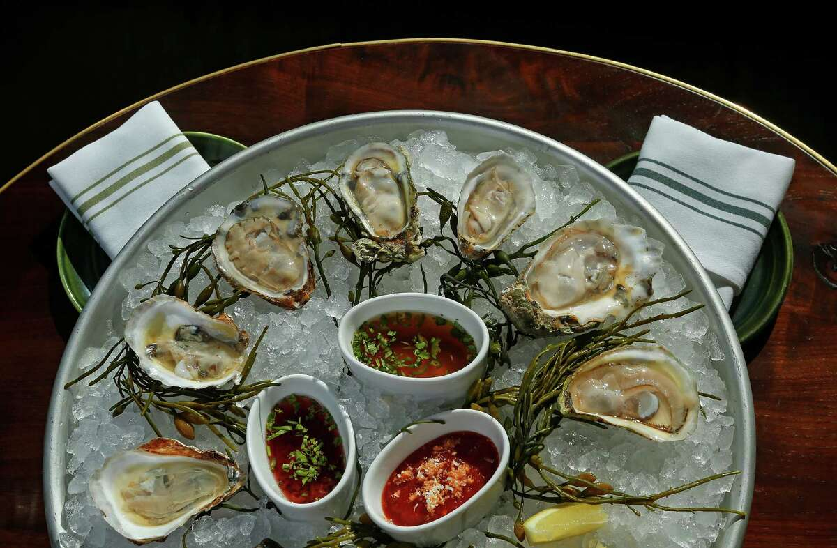 The fresh oysters at State of Grace are well sourced. At happy hour, every day from 3 to 6 p.m., Gulf Coast oysters are offered for $1 each.