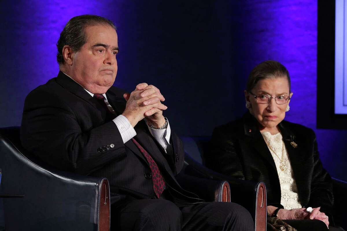 3. Liberal justice Ruth Bader Ginsburg called Scalia one of her