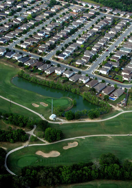 A neighborhood in the Forest Creek subdivision in Selma. Home sales and prices kept rising in the San Antonio area in January after hitting all-time highs last year. Photo: Express-News File Photo / © 2012 WILLIAM LUTHER