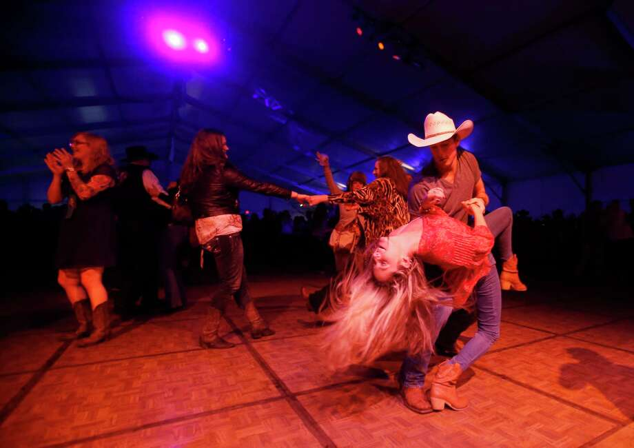 The Hideout, which marks its 25th anniversary this year, has a leg up on the big stage: Its dance floor is a hit with boot-scootin' fans. Photo: Jon Shapley, Staff / © 2015 Houston Chronicle