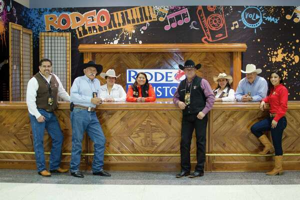 On average, each volunteer works 67.8 hours on the rodeo each year.