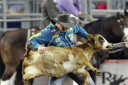The rodeo action continues Saturday and Sunday at NRG Park.