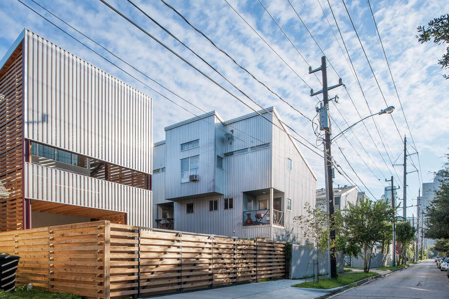 Shotgun Style House Modern Rice Home Showcase Houston